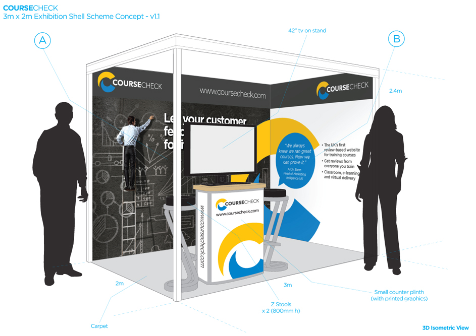 Exhibition Stand Design Drawings : Steve cripps graphic designer website designer exhibition stand